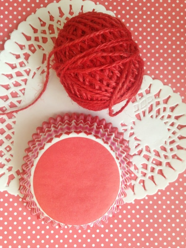 Valentine S Day Craft For Kids Cupcake Cup Banner