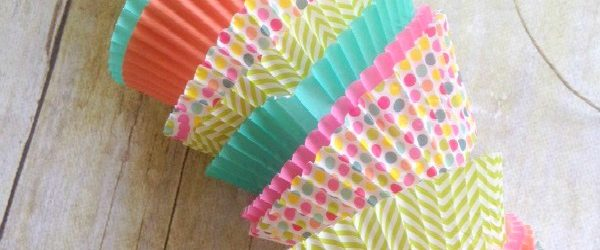 Sweet Spring Craft Cupcake Cup Garland The Homespun Hydgrangea
