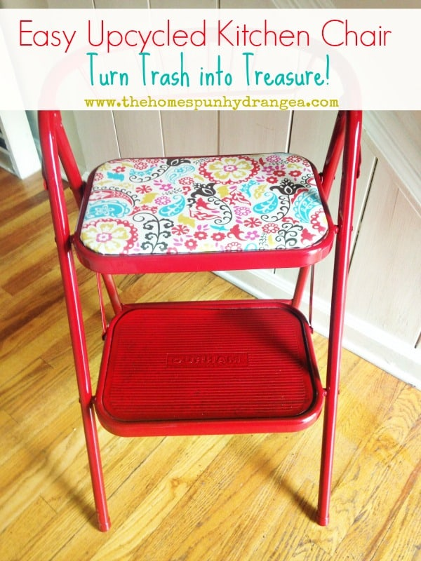 Easy Upcycled Kitchen Chair
