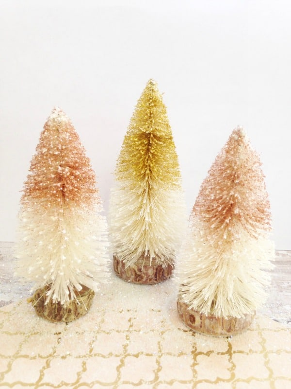 bottle brush christmas trees - Bottle Brush Christmas Trees
