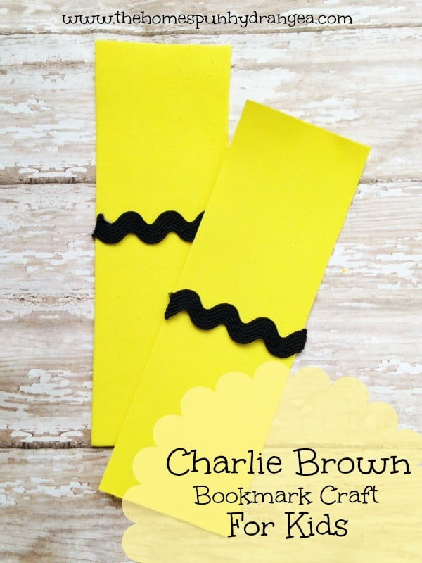 The Peanuts Movie Charlie Brown Craft for Kids