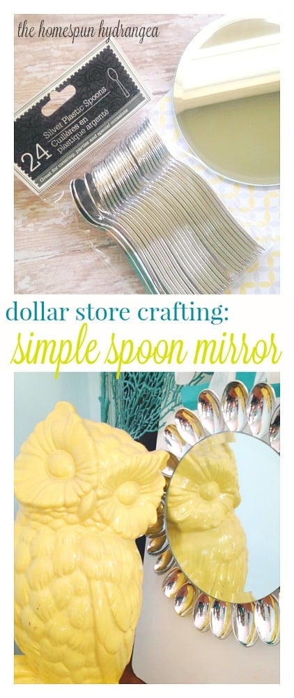 Dollar Store Crafts Sweet Spoon Mirror Craft