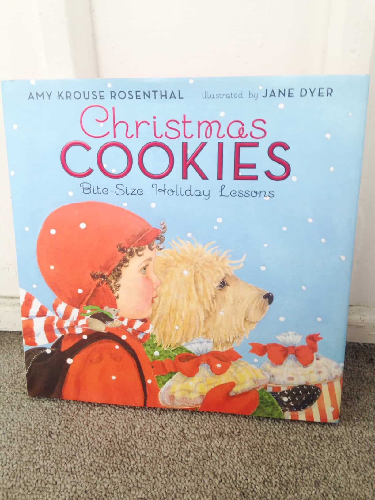 Christmas Books for Kids: Inside our December Book Basket