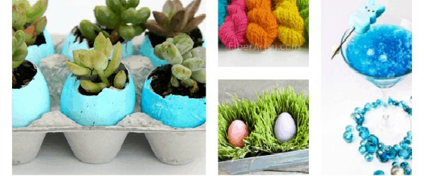 10 Simple And Unique Easter Crafts And Recipes The Homespun Hydrangea