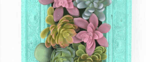 ... Succulents Garden Wall Hanging. Succulents Crafts