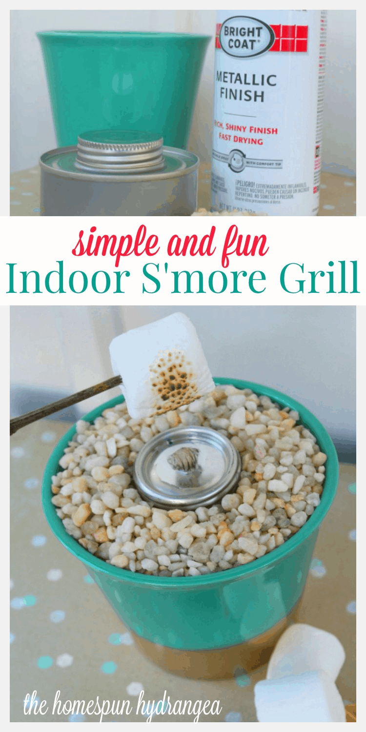 Dollar DIY How to Make an Indoor S\'mores Grill - The Homespun ...