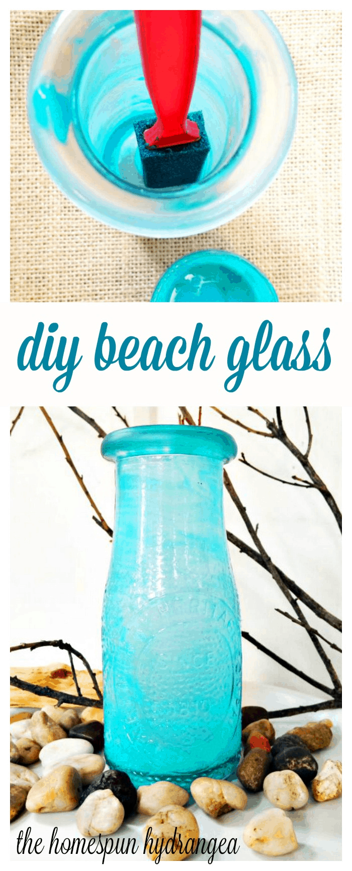 how to make your own beach glass or sea glass - How To Make Sea Glass