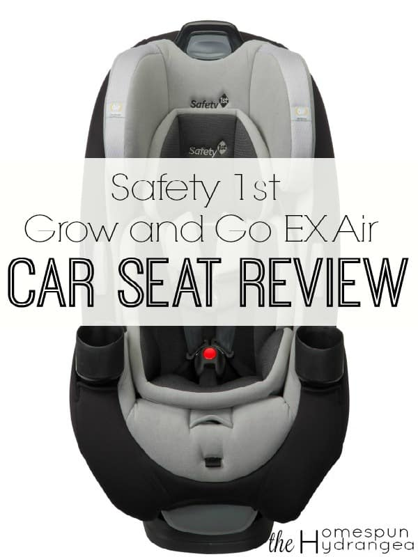 Safety 1st Grow And Go EX Air Car Seat Review