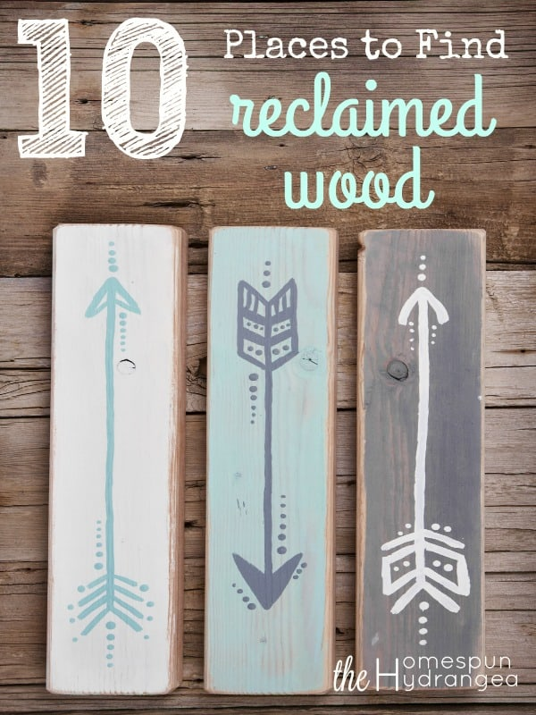 Where to Find ReClaimed Wood for Crafts and More! - The