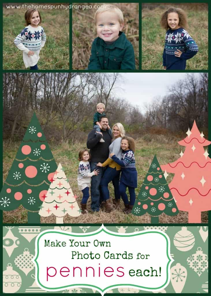 How to Make Your Own Christmas Cards for Less