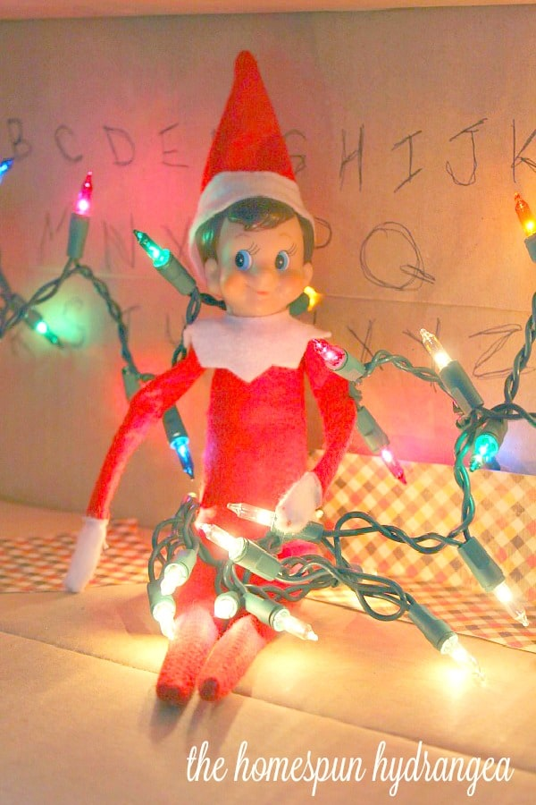 most creative elf on the shelf idea ever