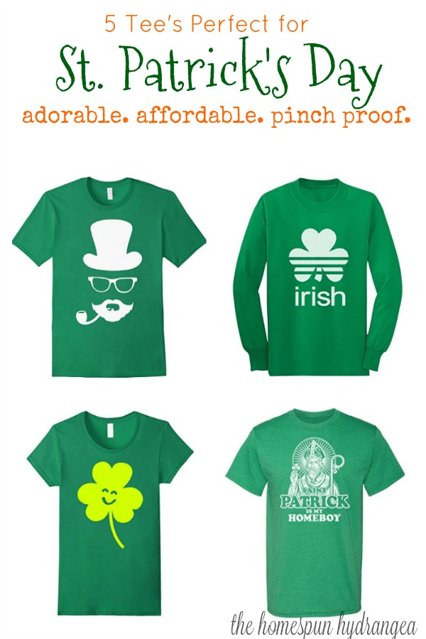 2c22cdd43 5 Must Have Adorable Saint Patrick's Day T-Shirts - The Homespun ...