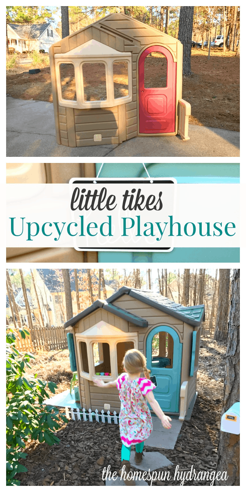 How To Makeover And Repurpose A Little Tikes Playhouse