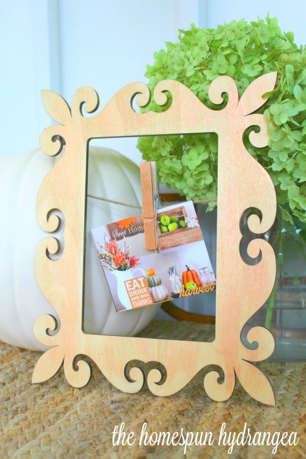 Make it Martha Craft Fall Picture Frame Makeover - The Homespun ...