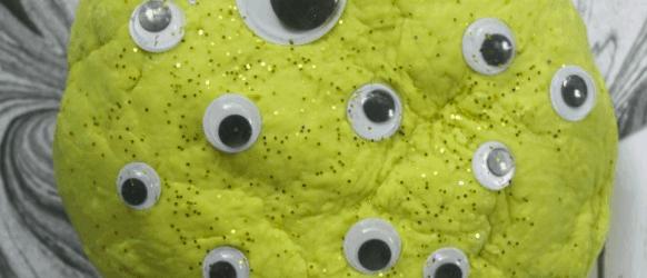 Easy Halloween Monster Play Dough Recipe For Kids The Homespun