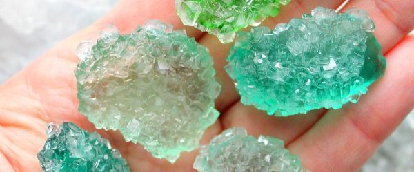 How to make a crystal without borax